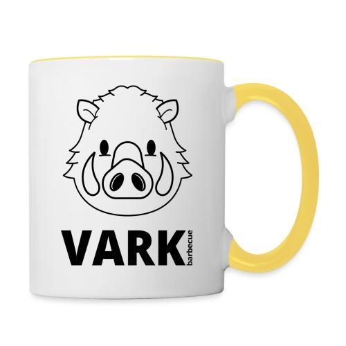 Vark logo - Mok tweekleurig