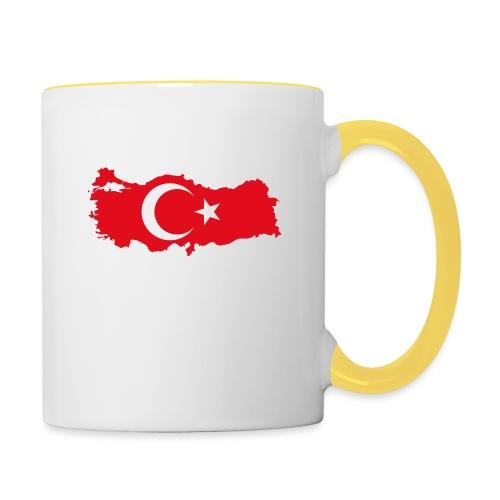Tyrkern - Tofarvet krus
