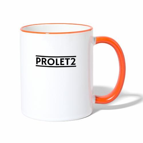 Prolet2 | Geschenk - Tasse zweifarbig