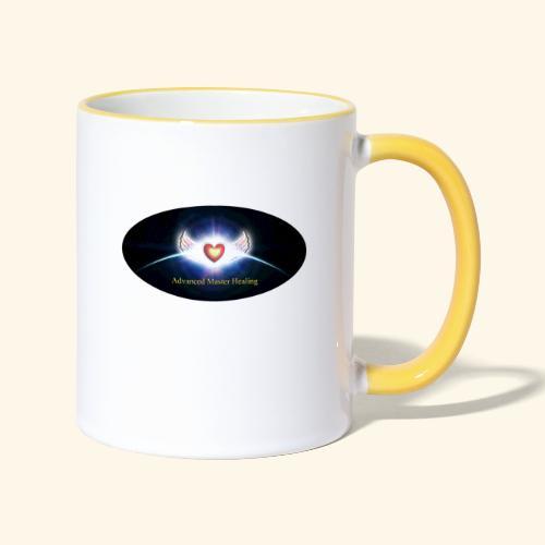 AMH Symbol - Tasse zweifarbig