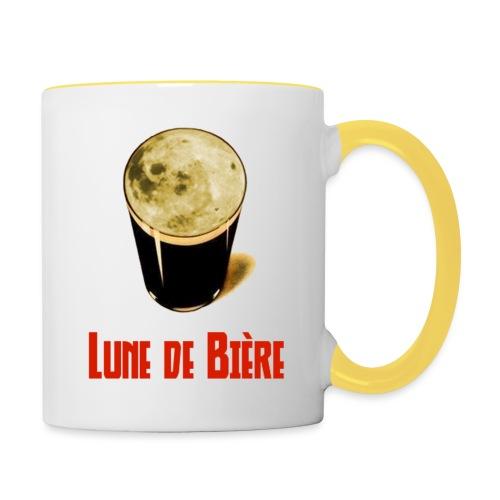 Logo Lune de Bière - Mug contrasté