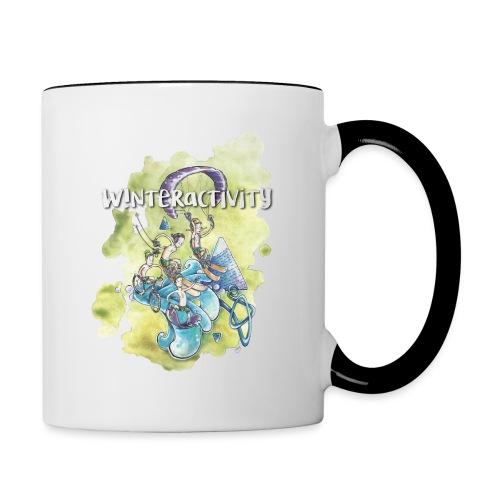 WINTERACTIVITY - Mug contrasté