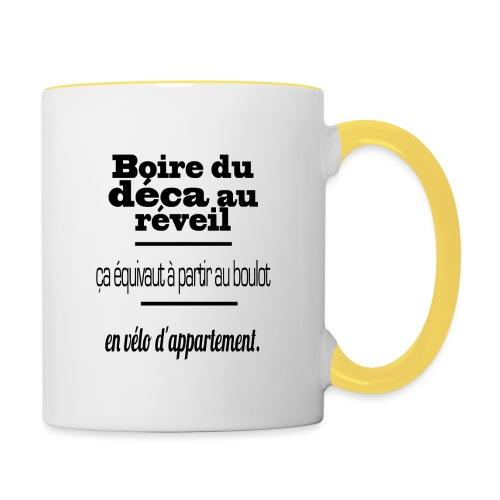 café - Mug contrasté