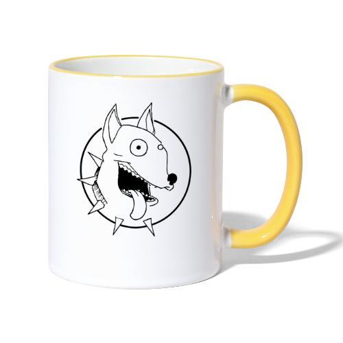 chien fou - Mug contrasté