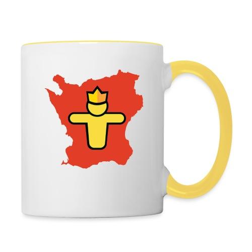 Turf Skåne symbol - Tvåfärgad mugg