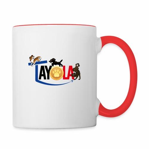 TAYOLA logo 2019 HD - Mug contrasté