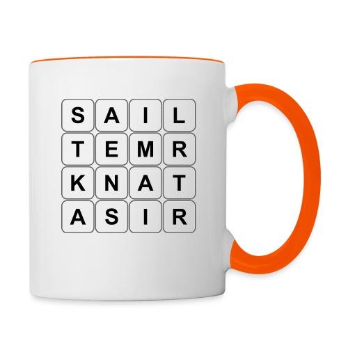 Grille 530 mots - Lettres verticales - Mug contrasté