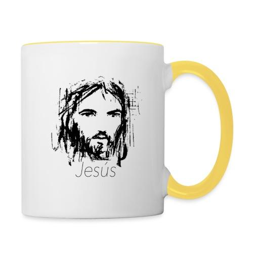 Jesus - Taza en dos colores