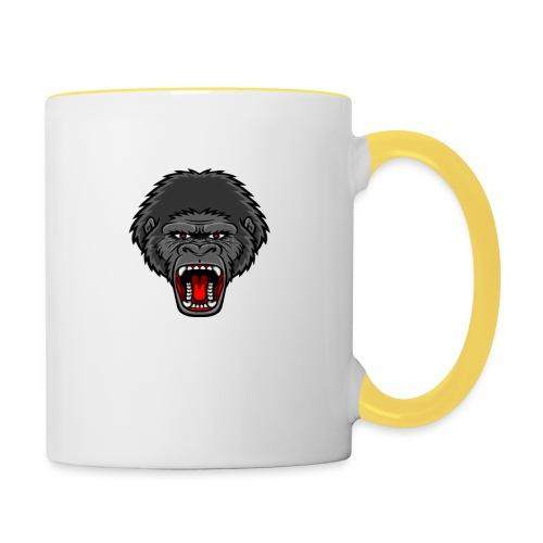 gorilla - Mok tweekleurig
