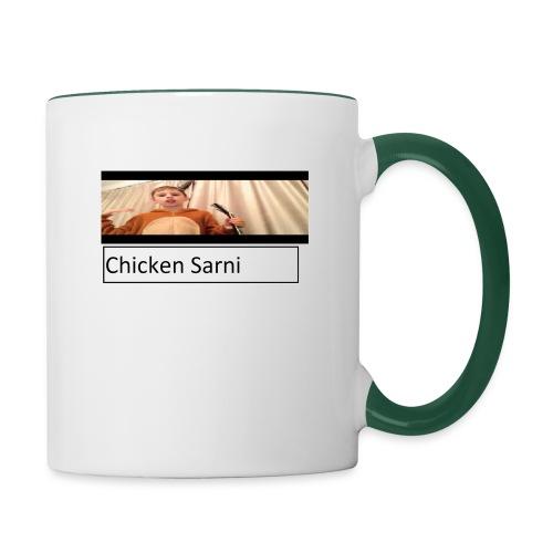 chicken sarni - Contrasting Mug