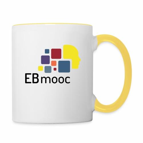 EBmooc Logo - Tasse zweifarbig