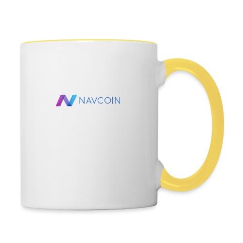 Navcoin (Nav) - Tasse zweifarbig