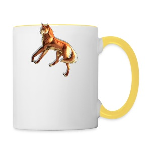 Fox of the night - Contrasting Mug