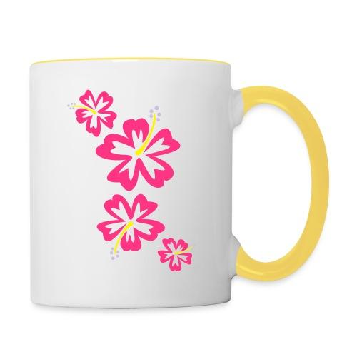 Hawaii Flower - Tasse zweifarbig