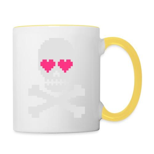 Skull Love - Mok tweekleurig