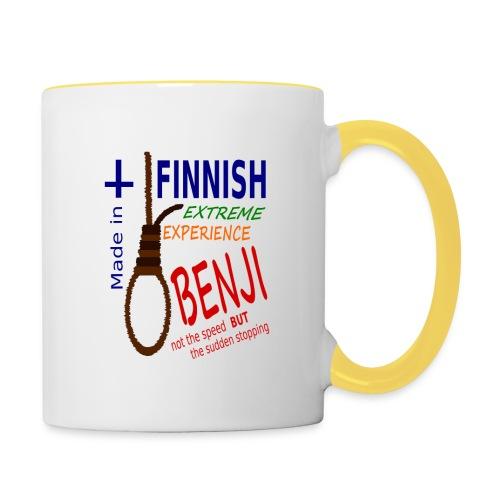 FINNISH-BENJI - Contrasting Mug