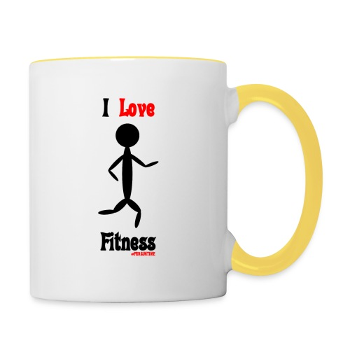 Fitness #FRASIMTIME - Tazze bicolor