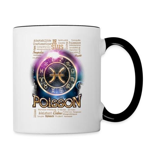 POISSONS - Mug contrasté