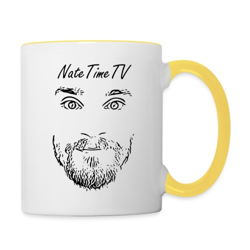 nttvfacelogo2 cheaper - Contrasting Mug