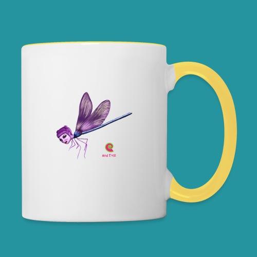 Libellula - Tazze bicolor