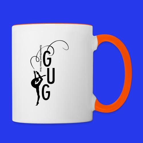 GUG logo - Tasse zweifarbig