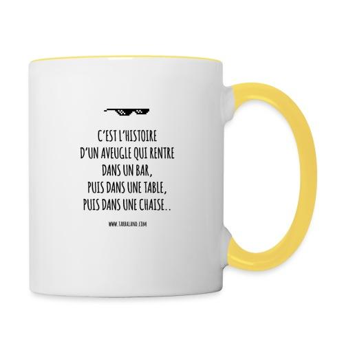 L'Aveugle - Mug contrasté
