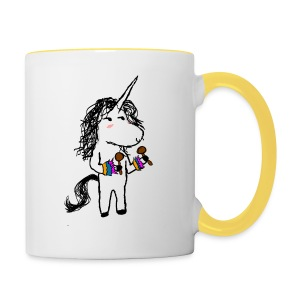 Unicorn Dancer - Contrasting Mug