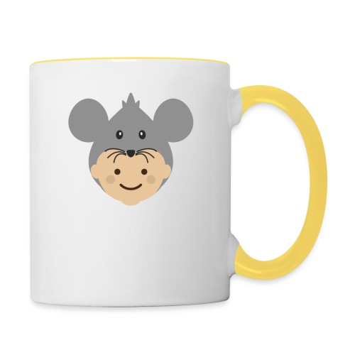 Mr Mousey | Ibbleobble - Contrasting Mug