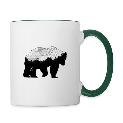 Geometric Mountain Bear - Tazze bicolor