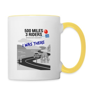 500 Miles supporter I was there - Contrasting Mug