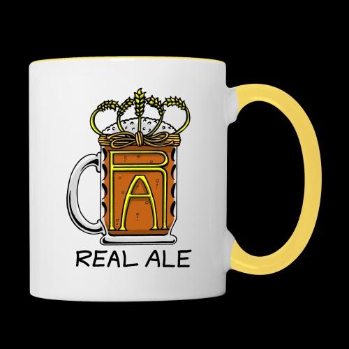 Real Ale - Contrasting Mug