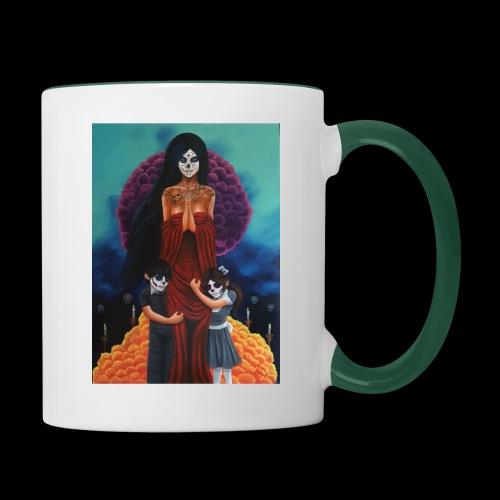 los fieles difuntos - Contrasting Mug