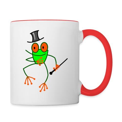 Dancing Frog - Contrasting Mug