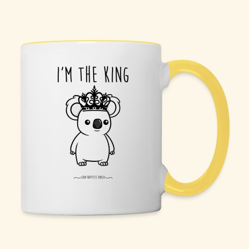 Koala king - Mug contrasté