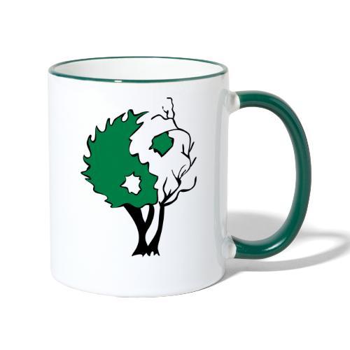 Yin Yang Arbre - Mug contrasté