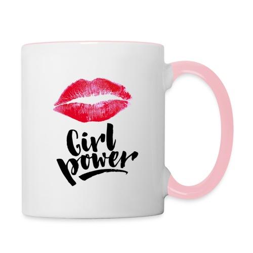 Girl Power - Mug contrasté