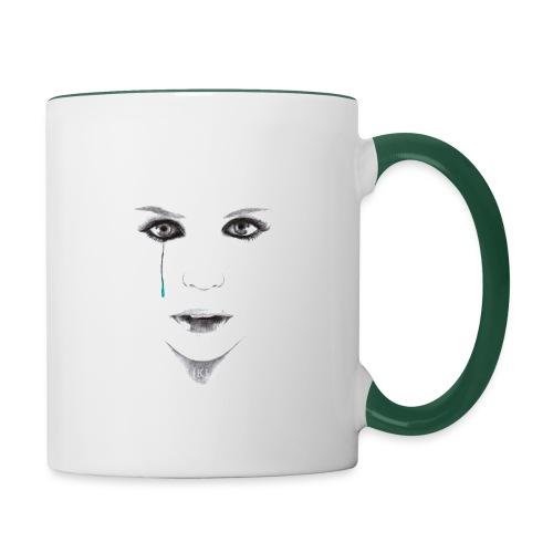 Blue tear - Mug contrasté