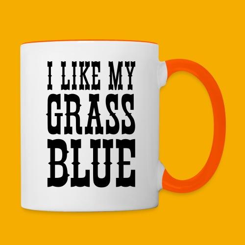 bluegrass - Mok tweekleurig