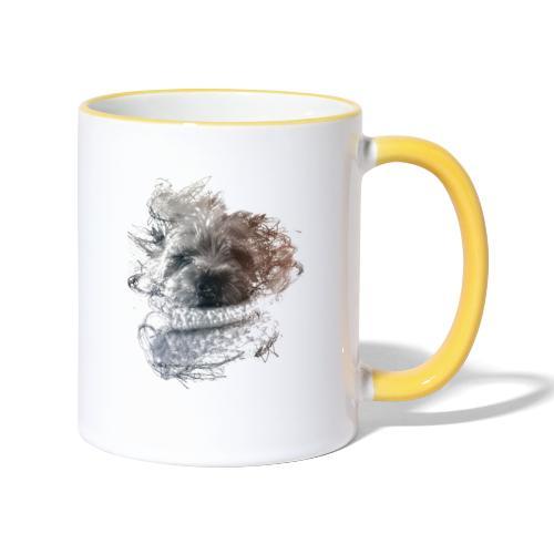 chien - Mug contrasté