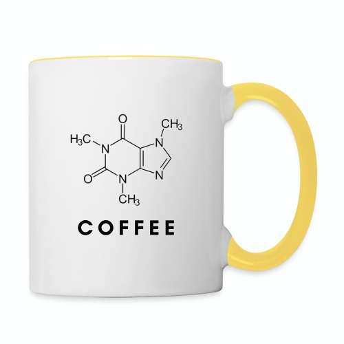 COFFEE - Taza en dos colores