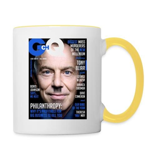 GCHQ Magazine - Contrasting Mug