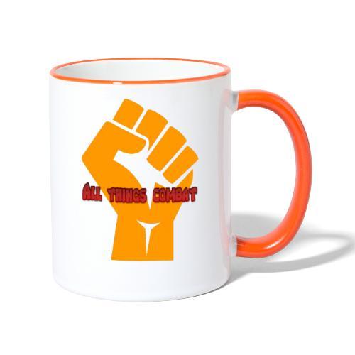 All Things Combat - Contrasting Mug