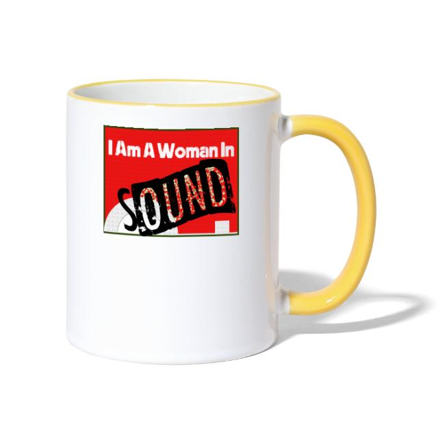 I am a woman in sound - red