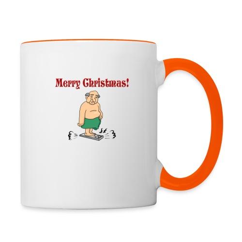 Merry christmas ! - Mug contrasté