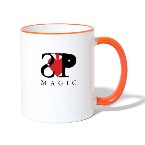 Mein Logo - Tasse zweifarbig