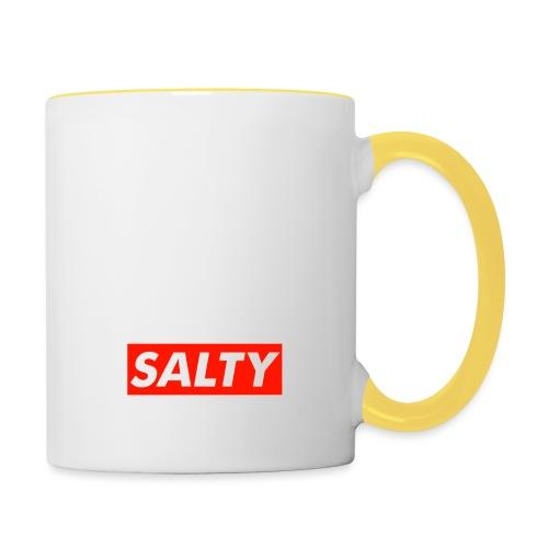 Salty white - Contrasting Mug