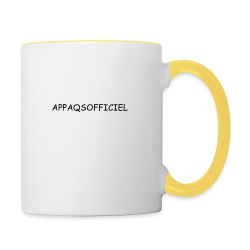 Accésoires AppAqsOfficiel - Mug contrasté