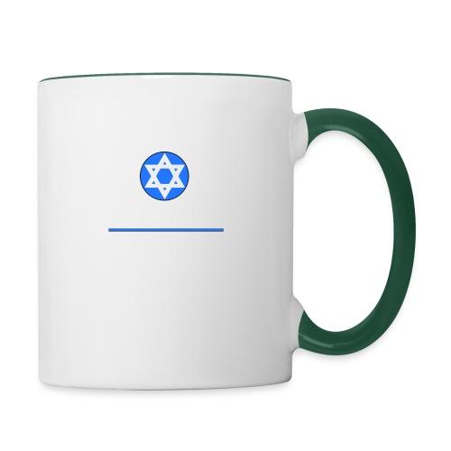 Wir sind auch Juden - Tasse zweifarbig