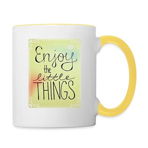 LITTLE_THINGS - Mok tweekleurig
