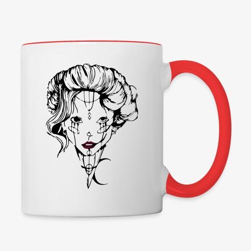 Tendresse maléfique - Mug contrasté